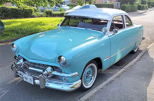 1951 Ford Shoebox Coupe