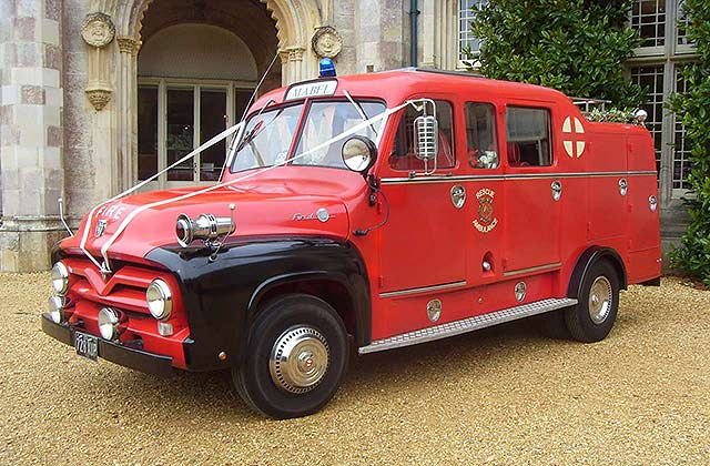 1954 Ford Fire Engine & Ambulance