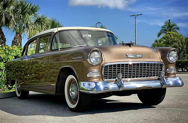 1955 Chevrolet 150 4 Door Sedan