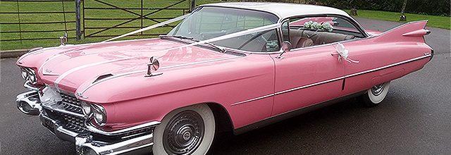 1959 Pink Cadillac Coupe De Ville