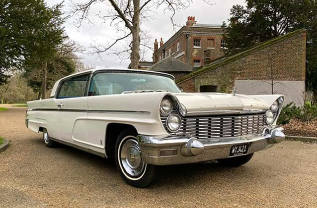 1960 Lincoln premiere coupe