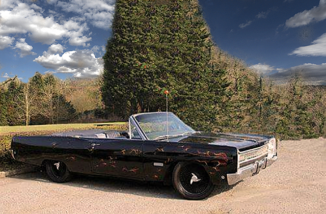 1968 Custom Plymouth Fury Convertible