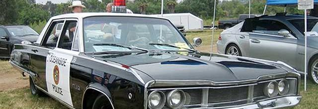 1968 Dodge Polara Police Car
