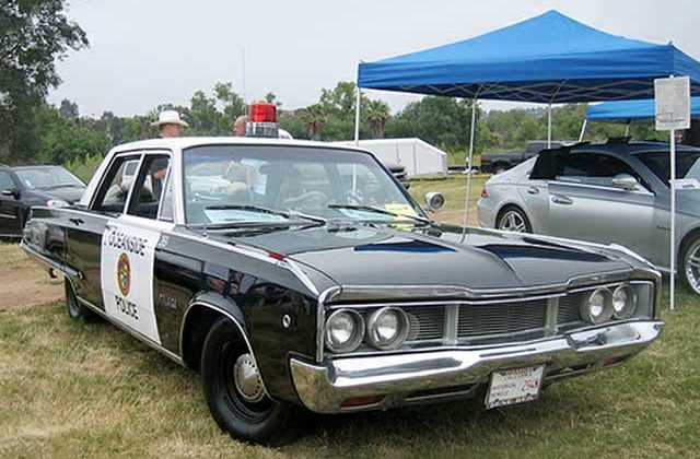 1968 Dodge Polara Police Car