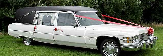 1974 Cadillac Fleetwood Miller Meteor Hearse