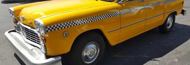 1979 Yellow Checker Cab
