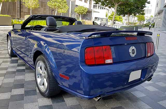 2009 Ford Mustang GT 5.0 Cabrio
