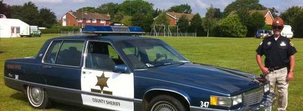 1985 Cadillac Fleetwood 69 Special Police Car